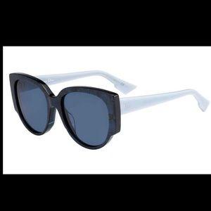 Dior Night Sunglasses - Blue Frame/Blue Lens